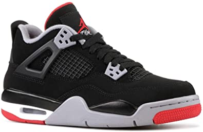 Air Jordan 4 Retro BG (GS) 'BRED