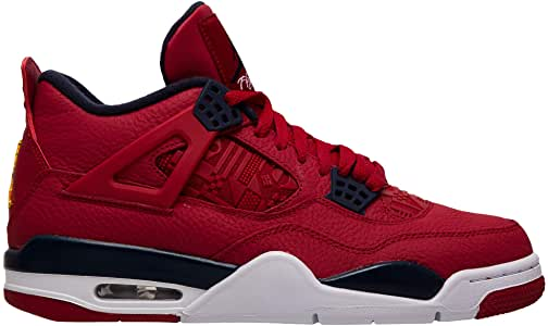 Jordan Air 4 (Gym Red White-Metallic Gold Coleccionista
