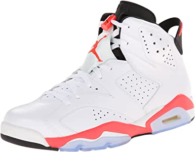 Zapatillas coleccionista Nike Air Jordan 6 Retro White Infrared White Infrared-Black Trainer